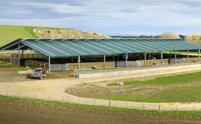 wintering sheds image 5 Dairy Barn Systems