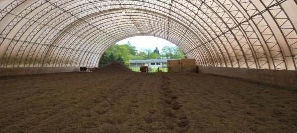 Compost Barns And The Potential Of Hemp Straw 187 Dairy Barn